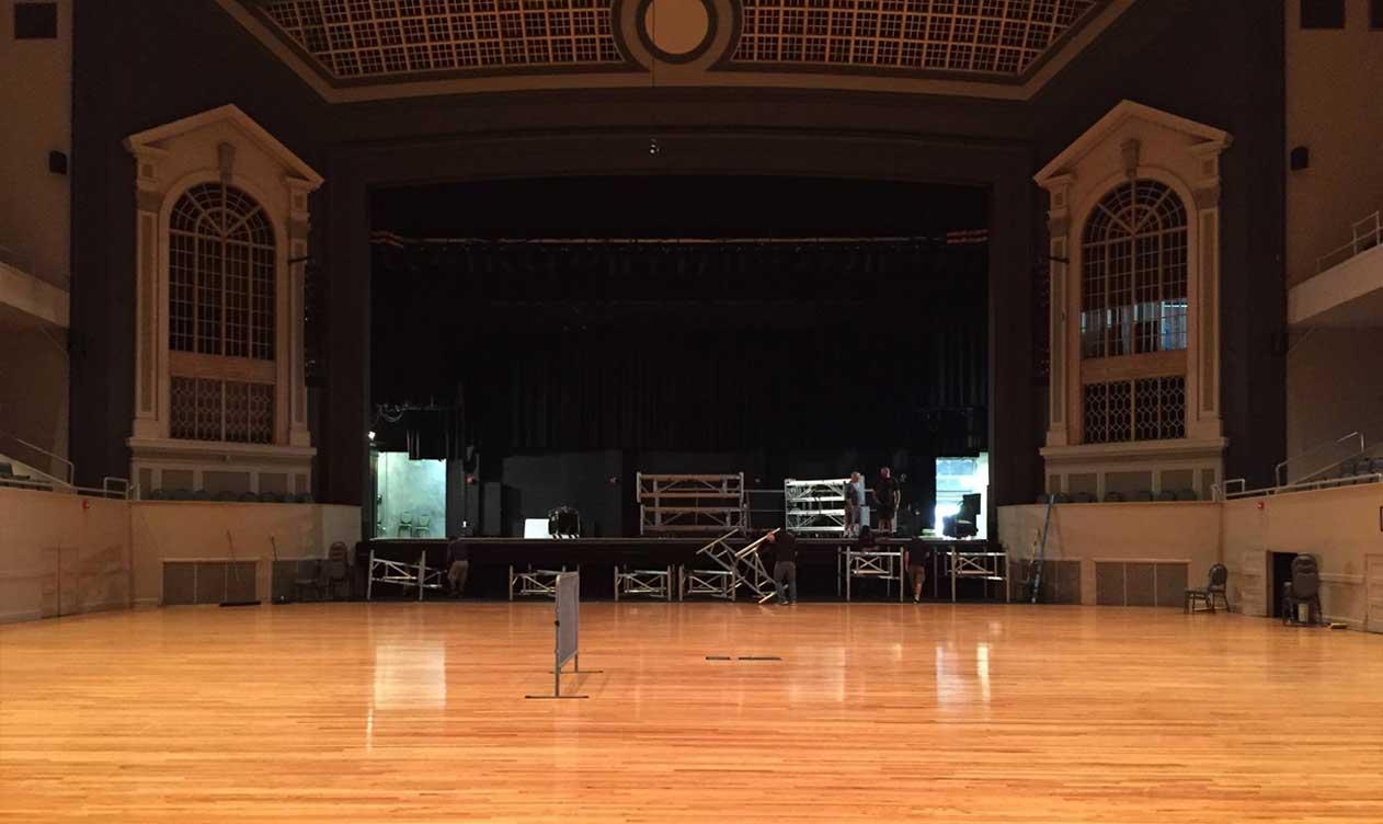 Township Auditorium: Before