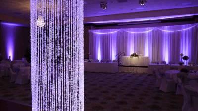 Ambient media sc event lighting u sound u draping and displays