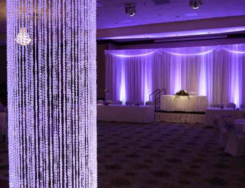 A Lovely Lavender Wedding Reception at The Medallion Conference Center